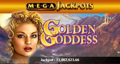 Golden Goddess Mega Jackpot Slot