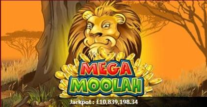 Mega Moolah Progressive Jackpot Prize