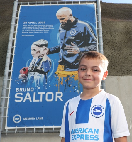 Brighton Football Club Mascot